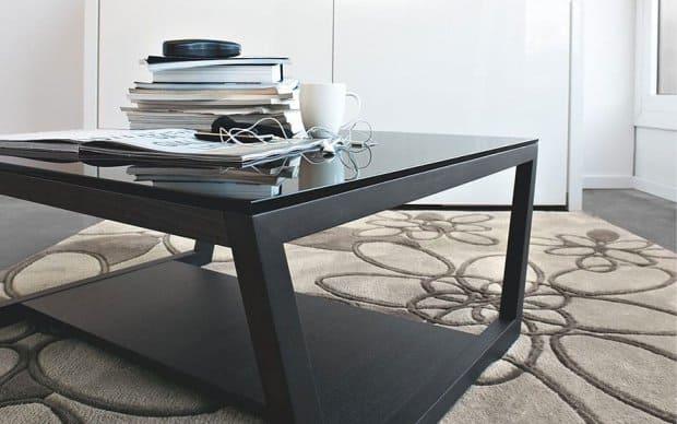 Couchtisch Element 80x80 (Calligaris Tische) schwarz - Ambiente