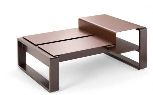 Kama Tisch Duo mit Ablage