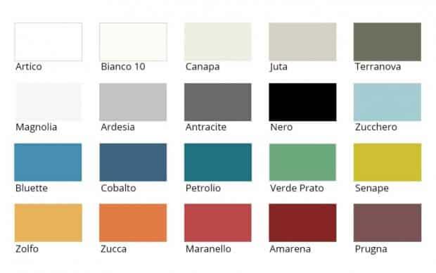 San Giacomo Nachttisch Cap 206 Farben