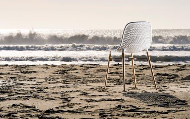 Infiniti Stuhl Next weiß hinten