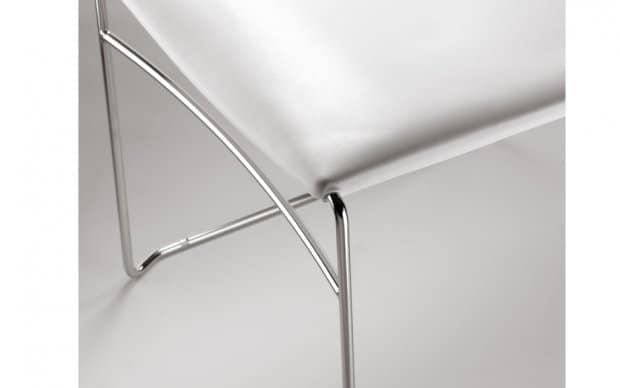 Infiniti Chair Web verchromtes Gestell
