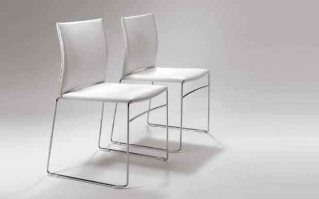 Infiniti Chair Web in weiss