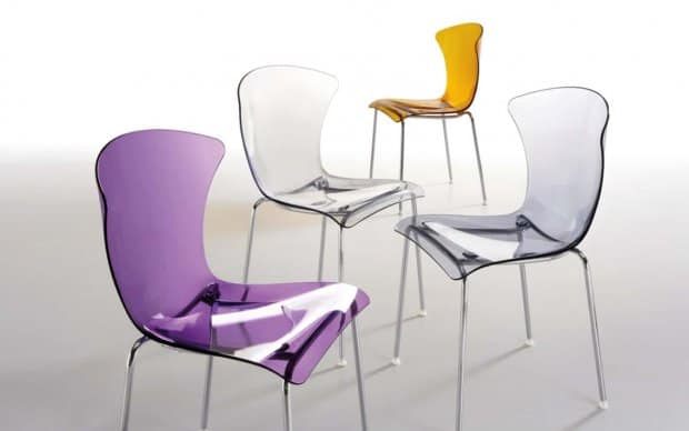 Infiniti Chair Glossy Serie transparent