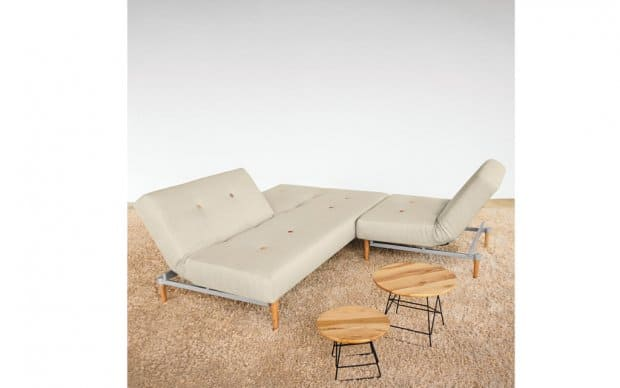 Innovation Fiftynine Chair in Kombination mit Fiftynine Schlafsofa