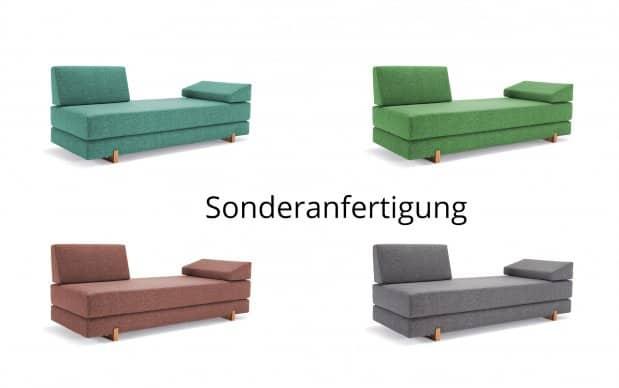 Innovation Schlafsofa Sigmund Sonderanfertigung