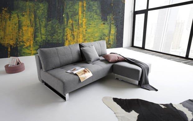 Innovation Sofa Supremax mit Hocker