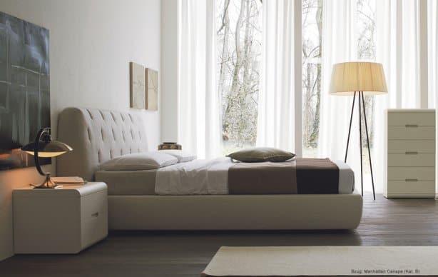 San Giacomo Design Polsterbett Big von der Seite