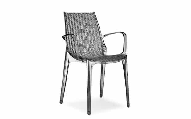 Scab Stuhl Tricot rauch