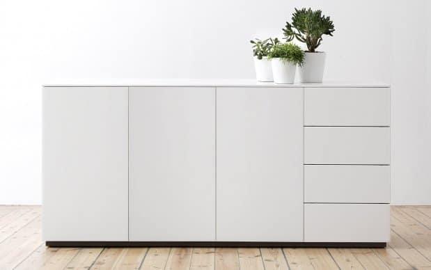 Voice Arctic Sideboard mit 3 Türen und 3 Schubladen rechts