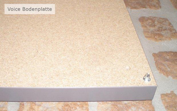 Arctic Sideboard Bodenplatte