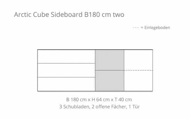 Voice Arctic Cube B180 Skizze