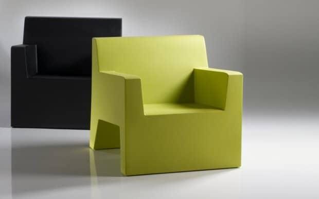 Vondom Jut Butaca Sessel Farben grün schwarz