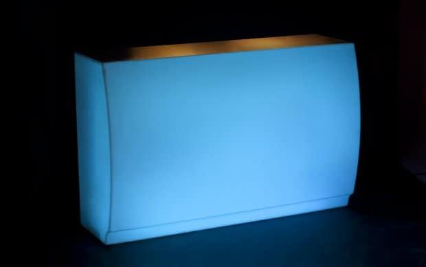 Vondom Fiesta Barra LED Hell Blau
