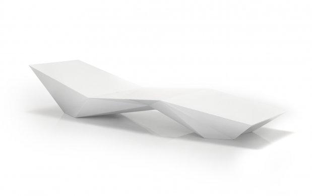 Vondom Liege Faz Tumbona Weiß