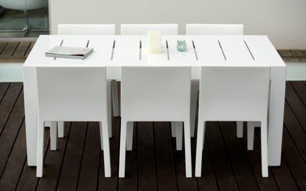Vondom Jut Mesa 180 Tisch weiss