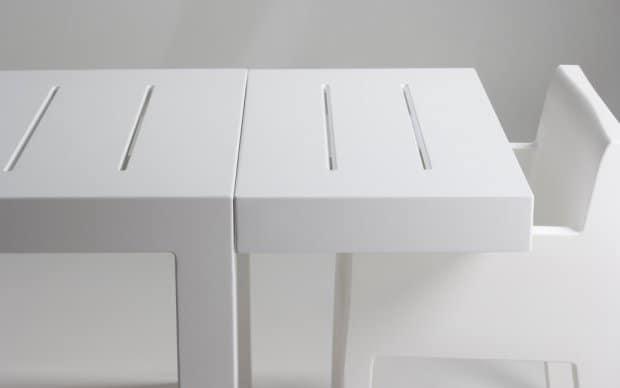 Vondom Jut Mesa 280 Tisch nah
