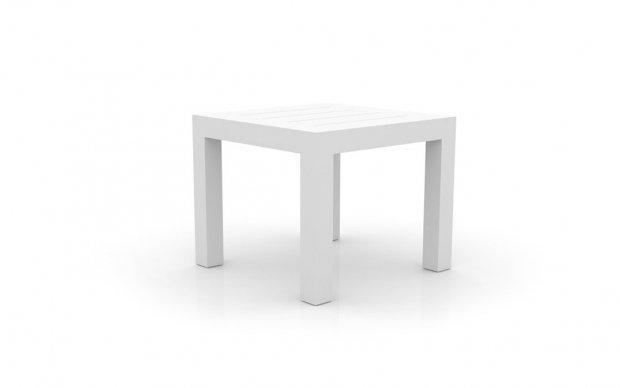 Vondom Jut Mesa 90 Tisch weiß