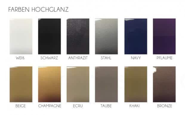 Vondom Jut Mesa 60 Tisch Farben Hochglanz