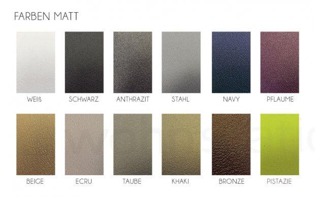 Vondom Frame Tisch Farben Matt