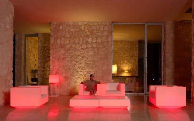Vondom Vela Butaca Sessel LED Beleuchtung