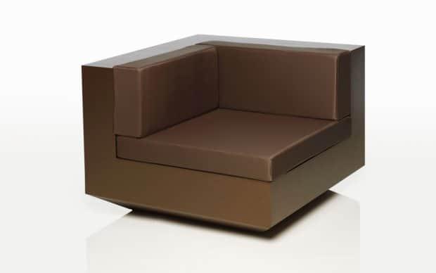 Vondom Vela Sofa Element Ecke Bronze