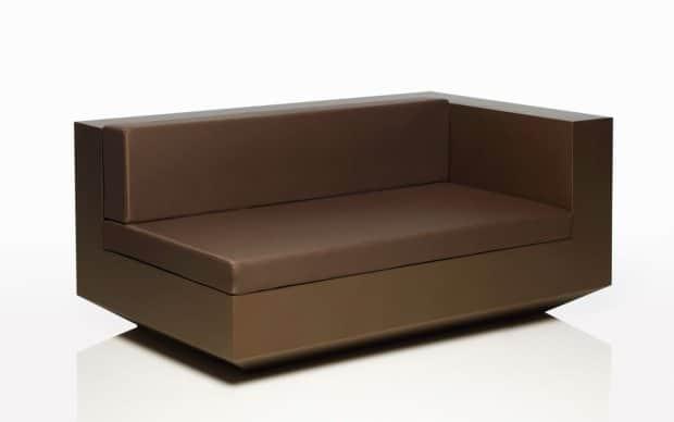Vondom Vela Sofa Element Links XL Bronze