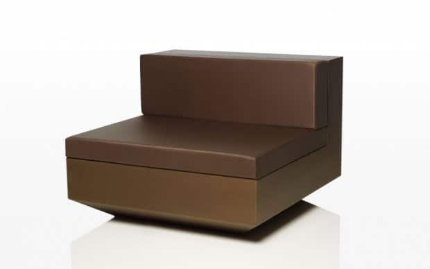 Vondom Vela Sofa Element Mitte Bronze