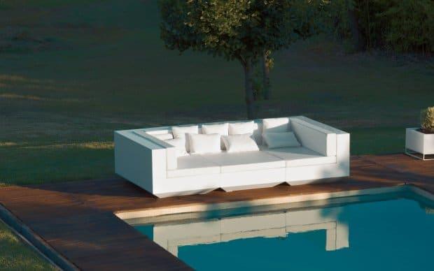 Vondom Vela Sofa B300cm