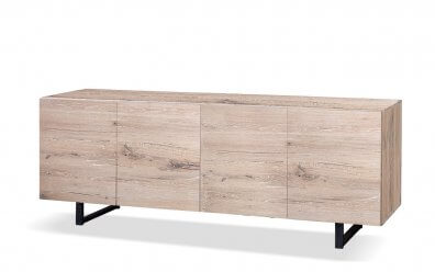 Sideboard Quadra 4-türig (Oliver-B-Casa) natur