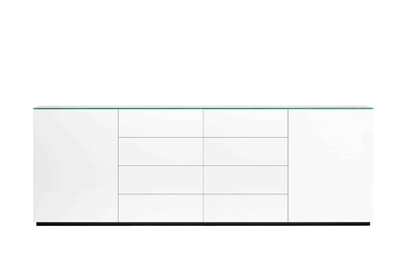 sideboard weis matt die neuesten innenarchitekturideen. Black Bedroom Furniture Sets. Home Design Ideas